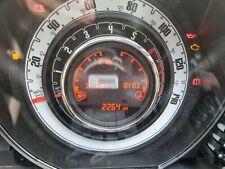 FIAT 500 2019 1.2 Petrol INSTRUMENT CLUSTER CLOCKS SPEEDOMETER 7356951380