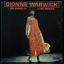 DIONNE WARWICK on stage and in the movies LP VG+ SPS-559 Vinyl 1967 Record