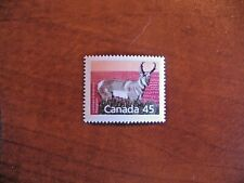 Canada 1990 #1772 45c Pronghorn single VFNH