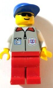 LEGO 1996 Minifigure res002 Town, Coast Guard 1 - Set 6334 Wave Jump Racers