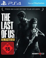 The Last Of Us -- Remastered PS4 Deutsch (Sony PlayStation 4) NEU OVP