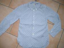 (29) Bellerose Boys langarm Hemd button down gestreift mit Logo Druck gr.104