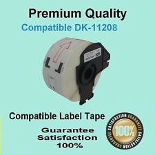 10 Rolls OF DK11208 DK 11208 BROTHER COMPATIBLE Large Address Label 38mmX90mm