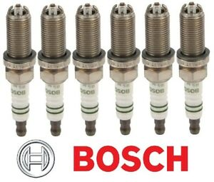 6-Plugs Bosch FGR5NQE0 oem Spark Plugs For Porsche 911 Boxster Cayenne Cayman
