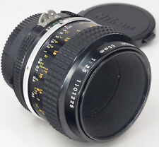 NIKON Ai 55mm 3.5 Micro-Nikkor