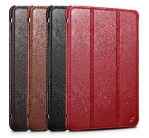 FUTLEX Genuine Leather Smart Stand Cover Case for Apple iPad Mini 5 (2019 year)