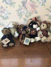 Lot Of 6 Boyd's Bears All New With Tags Police Cat Mommy Bear