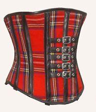 Unter Brust corsage korsett aus Tarten Leder  Gr 34,36,38,40, bis 56