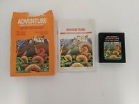 Adventure for Atari 2600 1980 CX 2613 CIB box manual game