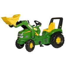 Rolly Toys John Deere rollyTrac Loader  X-Trac Traktor mit Frontlader Trettrakt