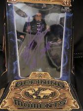 Undertaker Autographed Signed Defining Moments Figure RARE ! Beckett COA