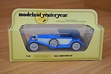 Models of Yesteryear 1928 MERCEDES BENZ SS COUPE - BY MATCHBOX Y-16 Blue