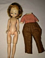 """Vintage 8"""" Tiny Betsy McCall Doll Blonde Sleep Eyes Outfit"""