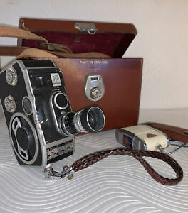 Vintage Bolex B8 Paillard Camera Leather Case Excellent Condition
