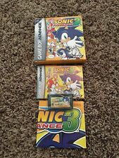 Sonic Advance 3 - Authentic - Game Boy Advance - GBA - Game / Box / Manual