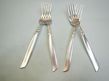 4 SOUTH SEAS DINNER FORKS-UNIQUE 1955 COMMUNITY FINEST