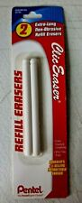 New Pentel Clic Eraser Refills White 2pack Penzer2bp K6