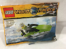 LEGO World Racers #30031 Boat - New, Sealed PolyBag - Great Stocking Stuffer