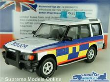 = Land Rover Defender policía gendarmería 1//43RD Modelo LWB problema Azul K9687Q