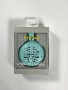 Heyday Green BT Wireless Speaker NEW! NIB