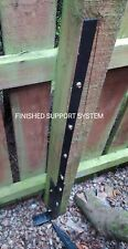New listing Easy install fence Post Pal Fence Support Repair Spike Knock In or Concrete In