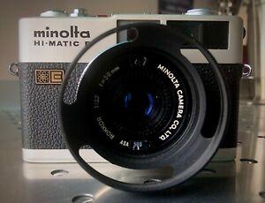 APPAREIL PHOTO MINOLTA  HI-MATIC F BEL ETAT