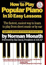 How to Play Popular Piano in 10 Easy Lessons: The