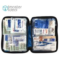 First Aid Kit Emergency Medical Survival Bag New Home Soft Case Travel Pack 131p