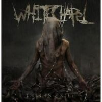 "WHITECHAPEL ""THIS IS EXILE"" CD DEATH METAL NEW!"