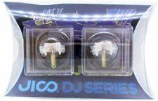 2-piece Jico Registrazione Ago Shure N44-7 / DJ ricambio R Giappone Importazione