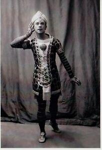 Vaslav NIJINSKY Great Russian Genius BALLET DANCER Paris 1910 Reprint NEW Photo