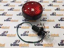 Land Rover Defender NAS Upgrade Round Fog Light Lamp, Bulb & Lead -  AMR6522