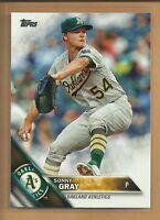 Sonny Gray 2016 Topps Series 1 Card # 4 New York Yankees Reds Baseball MLB
