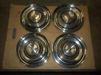 """1963 63 Rambler Classic Hubcap Rim Wheel Cover Hub Cap 14"""" OEM USED Z8 SET 4"""