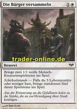 2x Die Bürger versammeln (Gather the Townsfolk) Dark Ascension Magic