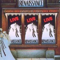 RENAISSANCE - LIVE AT CARNEGIE HALL  CD  8 TRACKS INTERNATIONAL POP  NEU