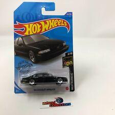 '96 Chevrolet Impala SS #232 * BLACK * 2020 Hot Wheels Case P * WB17