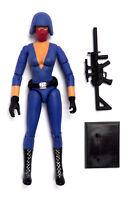 GI JOE Custom Action Figure 3.75 Inch Cobra Female Trooper Soldier Wars Star