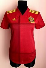 Spain 2020 - 2022 Home football Adidas Aeroready women shirt size S Player Issue