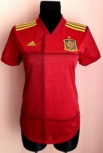 Spain 2020 - 2022 Home football Adidas Aeroready women shirt size S Player Issue