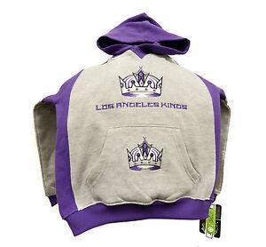 New LA Kings Kids 2Pc Fleece Set Sweat Pant Pullover Hoodie Sweater NHL Wear C25