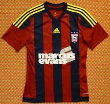 Ipswich Town, Away football shirt by Adidas, mens small