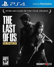 The Last of Us Remastered PS4 Game Brand New Sealed