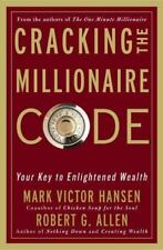 NEW HARDCOVER: CRACKING THE MILLIONAIRE CODE by Mark Victor Hansen, 1st Edition