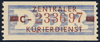 DDR-Dienst, B 20 C, Cottbus, sauber ungebraucht, Mi. ca. 75,-