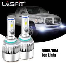 2x LASFIT 9006 HB4 LED Fog Light Bulb for Dodge RAM 1500 2500 3500 2013-2017 COB