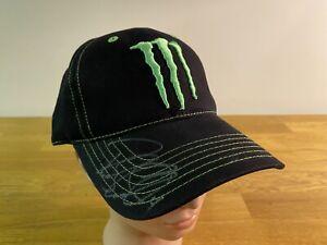Ricky Carmichael #4 Nascar Monster Energy CFS Cap Hat NWT AUTOGRAPHED 🏁