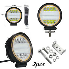 2X 120W LED Work Light Fog Lamp Truck Off-Road 4x4 Tractor Flood Lights 12V 24V