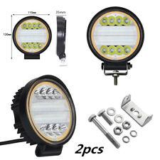 2X 120W LED Work Light Fog Lamp Truck Off-Road 4x4 Tractor Flood Lights 12V 24V