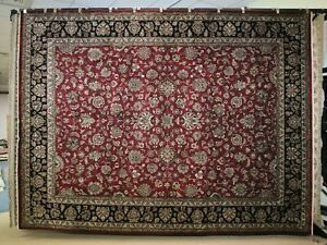"""9'1"""" x 12'0"""" ft. Hand Knotted Oriental Wool Rug"""
